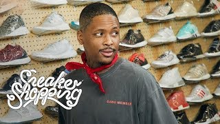 YG Goes Sneaker Shopping With Complex