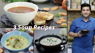 Simple Homemade Tomato Soup | Cauliflower Soup | Burmese Khow Suey | Kunal Kapur Recipe | Veg Soup