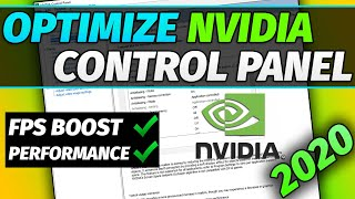 Nvidia Control Panel Best Settings for Gaming and Performance Guide 2021