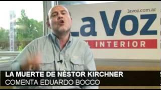 La Muerte De Kirchner / Comenta Eduardo Bocco