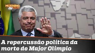 Morte de Major Olimpio joga pressão por CPI da Covid | Morning Show