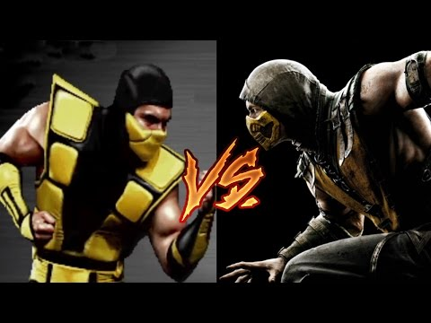 Mortal Kombat: Evolution of Vs Screen and Loading Screen - MK1 to MKX