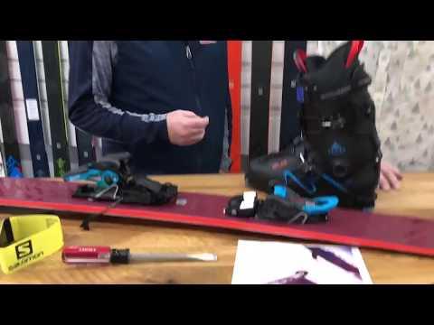 2019 SALOMON SHIFT Ski Binding Sneak Peek
