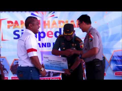 """Dapat bantuan Mobil Operasional ambulance dari BRI Semenep """"Kodim 0827 Sumenep"""""""