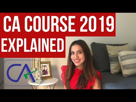 What is the CHARTERED ACCOUNTANCY (CA) Course India ...