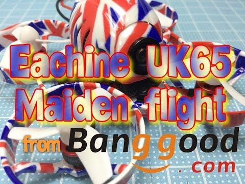 Eachine UK65 Maiden flight