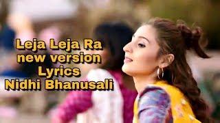 Leja Ra lyrics video Song with English translation   - YouTube