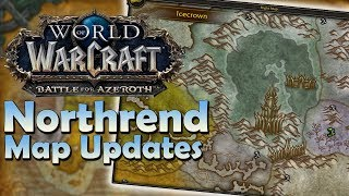 Northrend Map/Flight Master Updates! - Patch 8.1.5 | Battle for Azeroth
