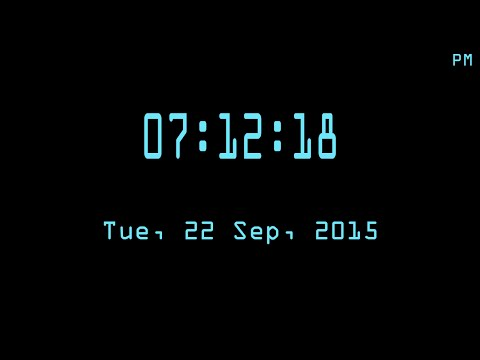 C/C++ Graphics Tutorial 25 | How to Make Digital Clock