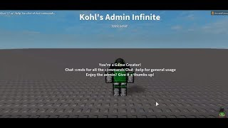 how to get admin commands on your roblox game 2019 - TH-Clip