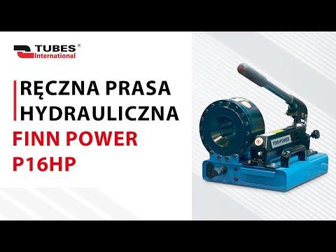 Ręczna prasa hydrauliczna FINN POWER P16HP - zdjęcie