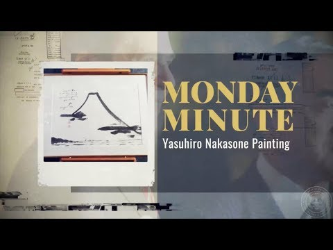 Monday Minute Ep. 48 (Season 2) — Yasuhiro Nakasone Painting