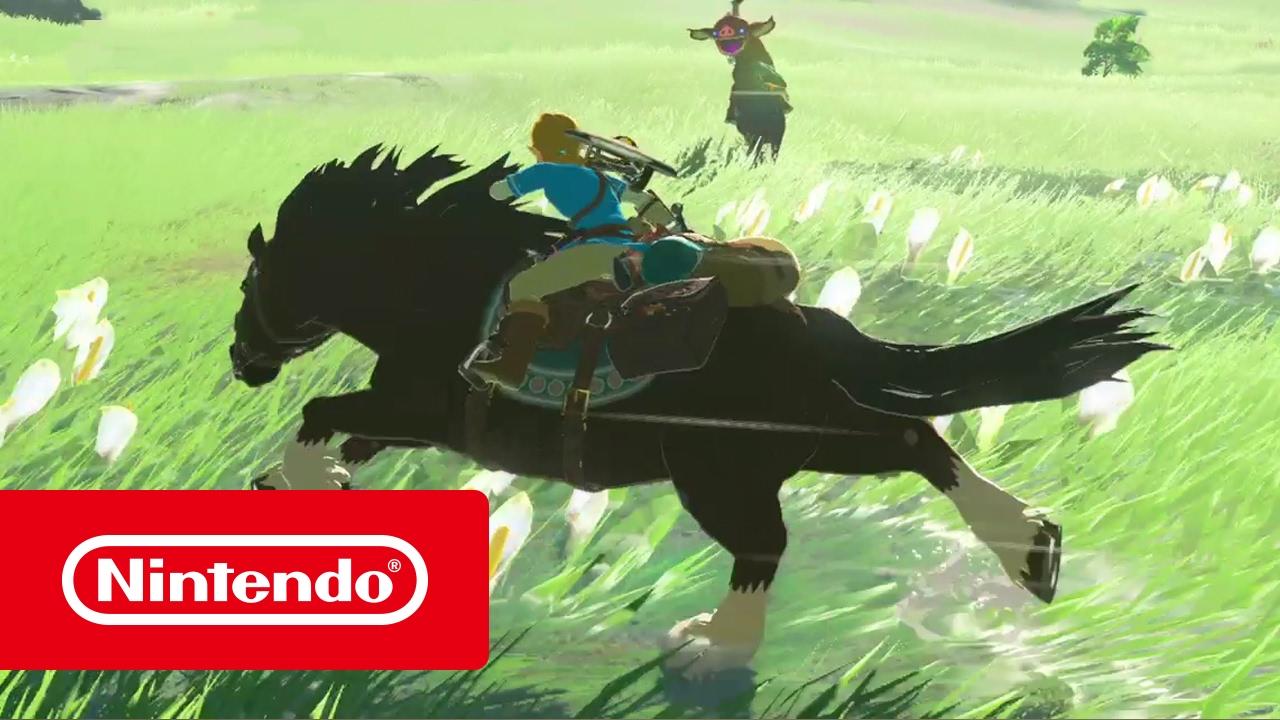 The Legend of Zelda: Breath of the Wild - Spot Nintendo Switch