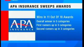 APA Insurance sweeps awards at business gala