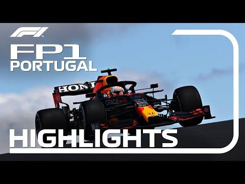F1第3戦ポルトガルGP(ポルティモア)フリープラクティス1のハイライト動画