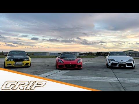 Tuning-Gipfel - Teil 1 - Lotus Exige, BMW M3, Toyota Supra (MK5) I GRIP
