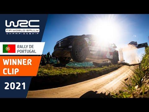 今季初優勝のトヨタエバンスのダイジェスト動画 第4戦ラリー・ポルトガル
