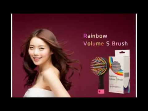 Eyecandy Rainbow Volume S Brush 3D Curly Magic Comb