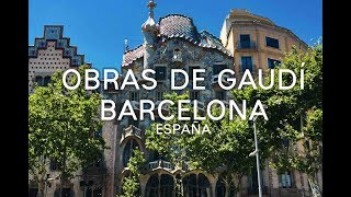 Obras Arquitectónicas De Gaudí En Barcelona || España #5