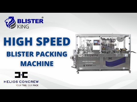 HC Triumph PVC Alu Blister Packing Machine