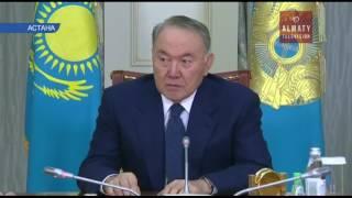 Мемлекет басшысы Өмірзақ Шүкеевті қабылдады (11.01.17)