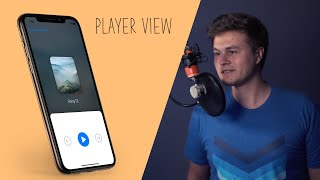 Designing the Player View for our Music App! (Part 2 : SwiftUI)