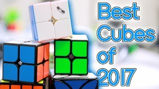 Best cubes of 2017 (featuring CrazyBadCuber)