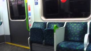 preview picture of video 'Journey on the District Line LONDON'