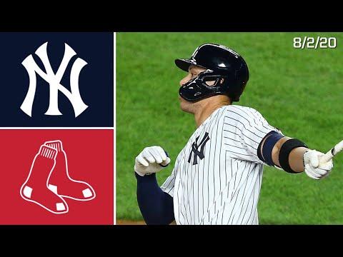 New York Yankees Vs. Boston Red Sox | Game Highlights | 8/2/20