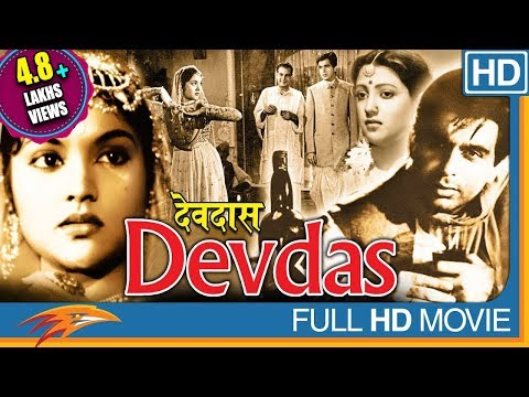 Devdas 1955 Hindi Old Classical Full Movie | Dilip Kumar, Vyjayanthimala | Bollywood Full Movies