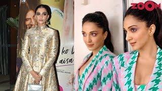 Sonam Kapoors Desi Avatar | Kiara Advani Wears Bold Houndstooth Print Outfit & More | Style Today