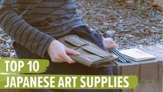 Top 10 Japanese Art Supplies