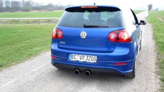 VW Golf V R32 Sound Exhaust