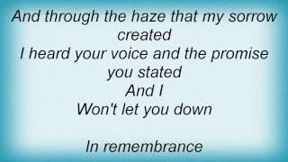 Evergrey - In Remembrance Lyrics