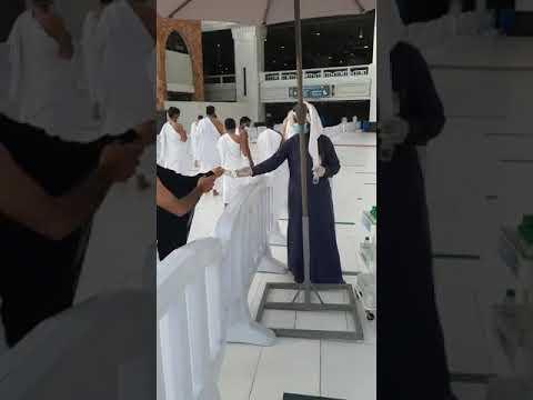 توزيع 15 مليون عبوة زمزم بمشاركة الروبوت الذكي فى الحرم المكي