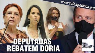 Deputadas defendem prefeita que desafiou Doria
