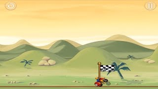 BIKE RACE FREE / TOP MOTORCYCLE RACING GAMES / Gameplay / All Hills Level 3 Stars Advanced