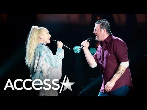 Blake Shelton & Gwen Stefani Look So In Love Singing 'Nobody But You' Duet