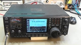 104 HAM radio repair Kenwood TM-D700 no switch on - TRX Bench