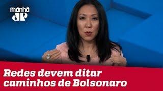 Thaís Oyama: Redes sociais devem ditar caminhos de Bolsonaro em 2020