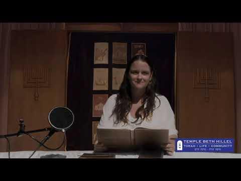 Rosh Hashanah 5781 Torah Service