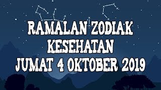 Ramalan Zodiak Kesehatan Jumat 4 Oktober 2019