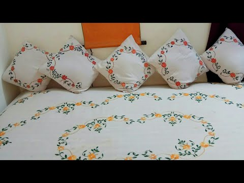 Handpainted divan set