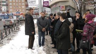 Роман Старовойт поручил расчистить улицы Курска от снега в ближайшее время