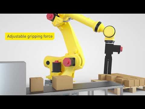 Intelligent robot accessories from FANUC - Servo gripper