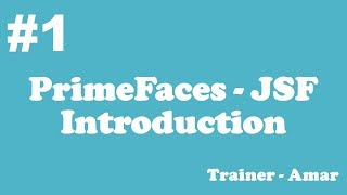 PrimeFaces - JSF Tutorial    Introduction & Creating PrimeFaces Project with Netbeans IDE    Part-1