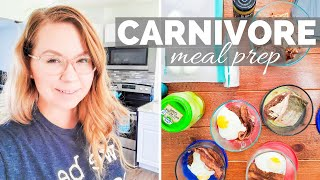CARNIVORE DIET MEAL PREP | A week of meals made in 30 minutes | Butcher Box Haul