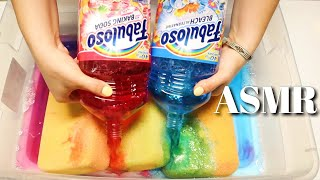 ✨🍬 ASMR COTTON CANDY COMBO! FLUFFY SUDS 🍬✨