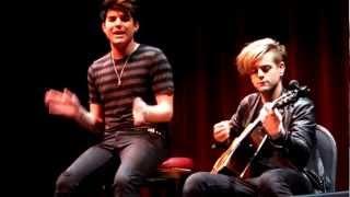 Adam Lambert Cuckoo (acoustic with no mic)