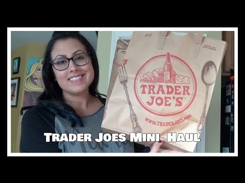 Trader Joes Mini Haul